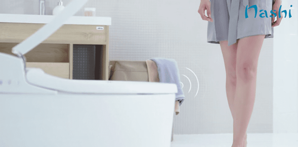 sensor proximidad inodoro japones